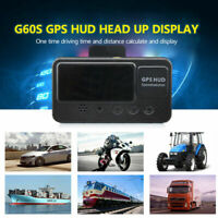 Auto GPS HUD Head up Display Tacho Anzeige Speedometer Tachometer Speed Warning