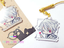Crystal Clear Acrylic straps charm: Mystic Messenger Zen App Game