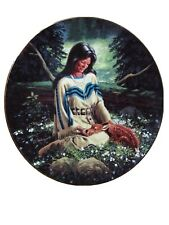 Wild Flower Daniel Wright Hamilton Collection Plate Princesses Of The Plains