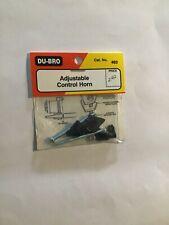 DU-BRO adjustable control horn. 493