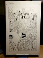 Darkminds Issue #6 Page 10 Original Art Work by Pat Lee Dreamwave Productions!