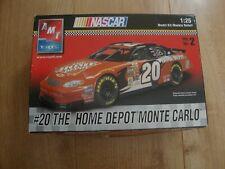 L213 AMT ERTL Model Kit 38070 - #20 The Home Depot Monte Carlo - 1/25
