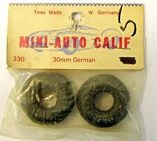 Mini-Auto Calif. #330 Tires 30mm German for 1:32 slot cars Mint in package