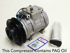 1993-1995 ACURA LEGEND REMANUFACTURED OEM DENSO A/C COMPRESSOR KIT W/WARRANTY.