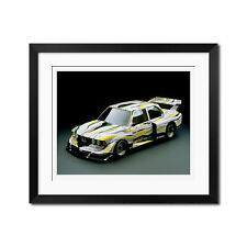 1977 BMW 329i Roy Lichtenstein Art Car Poster Print