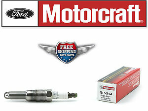 Set of 8 Motorcraft Spark Plug SP-514 replaced by SP547 PZH1F