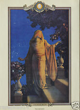 "Maxfield Parrish Portal Publication Vintage  ""Enchantment"" Litho Print Md"
