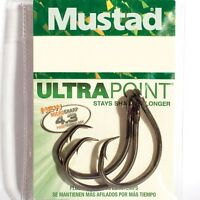 Mustad Ultra Point Demon Circle Fishing Hooks - Fine Wire - All Sizes