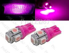 2 Ampoules à LED ROSE plafonnier PEUGEOT  106 206 207 208 306 307 308 406 407