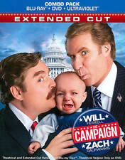 The Campaign~Ferrell/Galifianakis~Extended Cut (Blu-ray) NEW **Free Shipping**