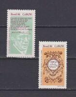 S19196) Brasilien Brazil 1986 MNH Neu Day Of The Book 2v
