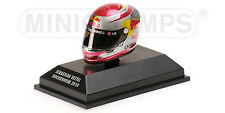 MINICHAMPS 381 100305 ARAI F1 drivers Helmet S Vettell Hockenheim GP 2010 1:8th