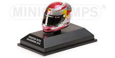 MINICHAMPS 381 100305 ARAI F1 drivers Helmet S Vettell Hockenheim GP 2010 1:8th