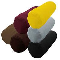 mb+6 Colors Bolster Yoga Case Flat Velvet Style Fabric Neck Roll Custom Size