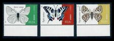 Cyprus 2020 Butterflies Colorful Set of Three Stamps MNH