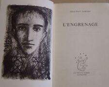 SARTRE Jean-Paul - L'ENGRENAGE - LA PETITE OURSE - 1953