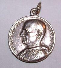 Medal - Paulus VI - Pont. Maximus Medallion, Charm - Pope Paul VI Pontiff Italy