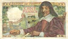 05 France / Frankreich P101 100 Francs 07.01.1943