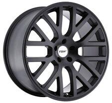 17x8 TSW Donington 5x112 Rims +32 Matte Black Wheels (Set of 4)