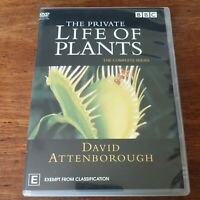 The Private Life of Plants David Attenborough DVD R4 Like New! FREE POST