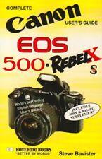 Canon EOS 500/Rebel XS/X (Hove User's Guide) By Hove Foto Books