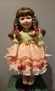 """Gorgeous Show Stoppers 22"""" Porcelain Doll Libby by Florence Maranuk 320/5000 COA"""