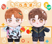 The Untamed 王一博 Wang Yibo Xiao Zhan 20cm Plush Doll Clothing Dressup Fan Toys