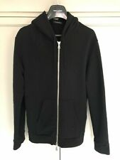 BALMAIN ZIP BLACK HOODIE 100% AUTHENTIC - FROM BALMAIN ONLINE STORE £410 SIZE L