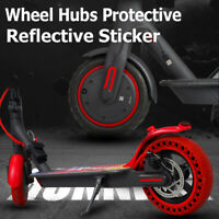 Scooter Wheel Hubs Protective Reflective Sticker for Xiaomi M365 Pro Scooter Hn