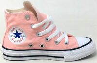 Converse Unisex Kids CT All Star Ox Hi Skate Shoes Storm Pink White Size 12 M US