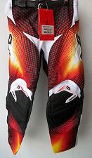 "Kids Youth Red Scott Pants Sz 22"" Age 3-4 Motocross Trousers Honda Mx Sx Cr Pw"