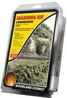 NEW Woodland N/HO Train Scenery Landscaping Learning Kit LK954