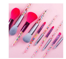 ZZDOG 5/8pcs Mini Makeup Brushes Soft Eyeshadow Powder Blush Eyebrow Brush Set C