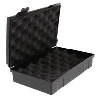Black Plastic Tool Box For Watch Repair Tool Storage Case Home Organizer