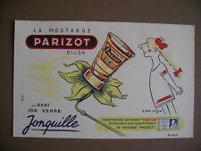PARIZOT Moutarde Buvard - SAVIGNAC - Point TINTIN - Etat neuf