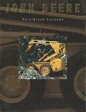 Equipment Brochure - John Deere - 3375 et al Skid Steer Loaders - c1995 (E3220)