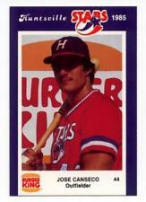 1985 Huntsville Stars Jose Canseco Pre Rookie PSA?