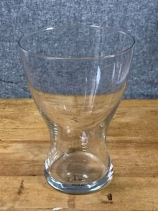 Ikea DESIGN ASA GREY Large Clear Glass Vase