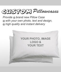 Personalized Pillowcase Printing - Custom print your picture - made 100% COTTON