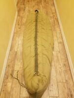 US Army Arctic Sleeping Bag M-1945 Dated 1949 Down Mummy