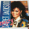 """Janet Jackson Nasty Vinyl Record Rare UK Import You'll Never Find 12"""" 1986"""