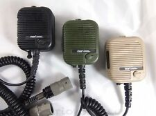 TRI Thales Type Hand Mic Tan Triumph Instrument Radio PRC 152 PRC 148 Military