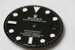 Custom Submariner  Black Dial for Rolex 116610