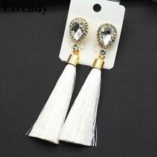 White Tassel Gorgeous Earrings Fashion Jewelry Jewellery New