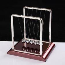 Newton Cradle Balance Steel Balls School Teaching Supplies Physics Science Pendu