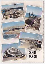 CPSM 66140 CANET PLAGE Multivues 5 vues Edt S.L.