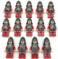 Lego New 14 New Castle Minifigures with Armor Army Kingdoms Knights Figures