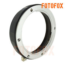 For Sony Lens Metal Rear Lens Reverse Mount Protection Ring 58mm Filter Thread
