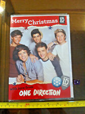 One Direction 1D Christmas Card Xmas Speaking Message Working Claires Claire's
