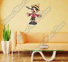 "Pinocchio Big Nose Cartoon Gift Idea Wall Sticker Room Interior Decor 20""X25"""
